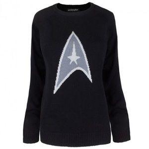 Star Trek Symbol Women's Knit Sweater